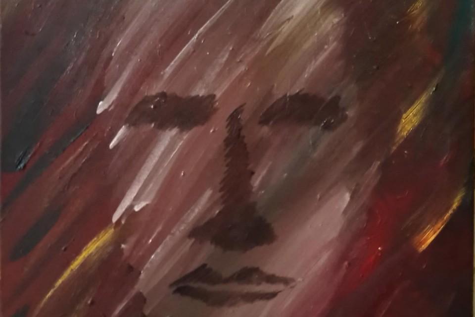 abstract portrait, expressionistic portrait, vagur portrait, painting of a man, gestural face painting, abstract oil painting, abstract portrait oil painting, brown wall art, brown abstract oil painting, abstract protrait of a man, abstract shadow painting, hidden faces, painting, oil painting, oil painting for sale, abstract oil painting for sale, buy oil paintings, buy abstract oil paintings, brown expressive oil painting for sale,